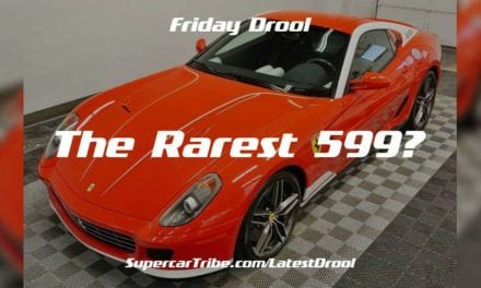 Friday Drool – Ferrari 599 GTB 60F1 – the Rarest 599?