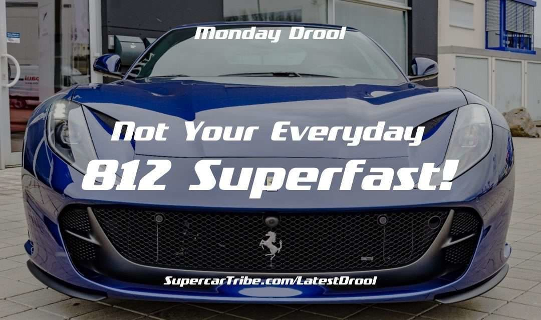 Monday Drool – Not Your Everyday 812 Superfast!