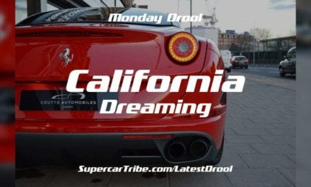 Monday Drool – The Ferrari California T – California Dreaming