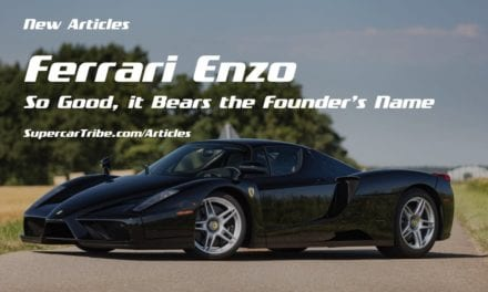 Ferrari Enzo – So Good, it Bears the Founder's Name