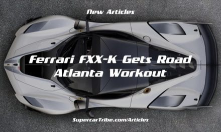 Ferrari FXX-K Gets Road Atlanta Workout