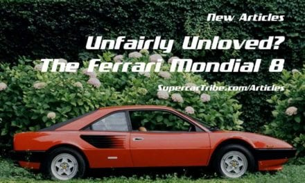 Unfairly Unloved? The Ferrari Mondial 8