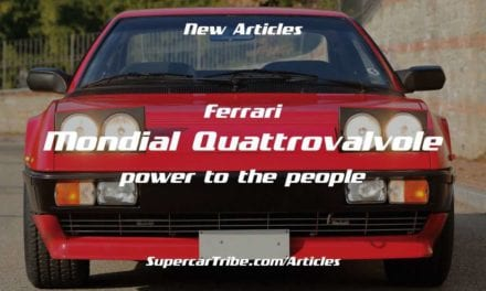 Ferrari Mondial Quattrovalvole – power to the people