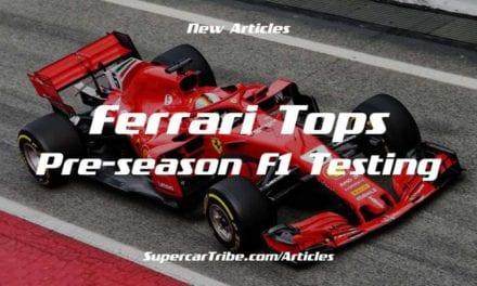 Ferrari Tops Pre-season F1 Testing
