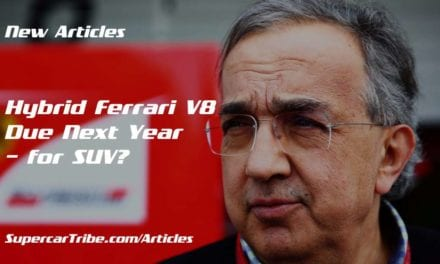 Hybrid Ferrari V8 Due Next Year – for SUV?