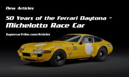 50 Years of the Ferrari Daytona – Michelotto Race Car