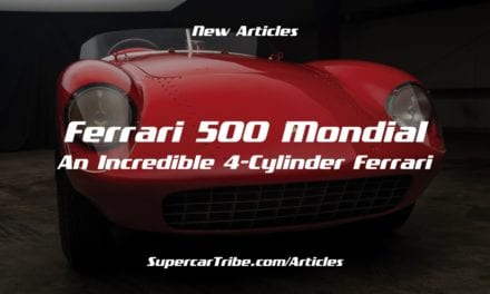 Ferrari 500 Mondial – An Incredible 4-Cylinder Ferrari