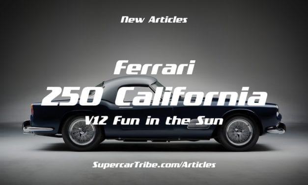 250 California – V12 Fun in the Sun