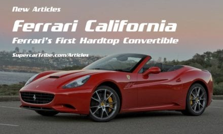 Ferrari California – Ferrari's First Hardtop Convertible