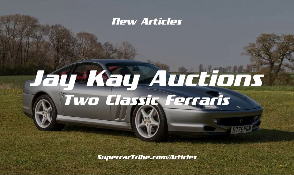 Jay Kay Auctions Two Classic Ferraris