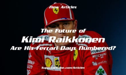 The Future of Kimi Raikkonen – Are His Ferrari Days Numbered?