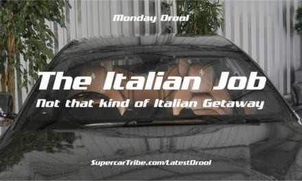 Monday Drool – The Italian Job – Not that kind of Italian Getaway