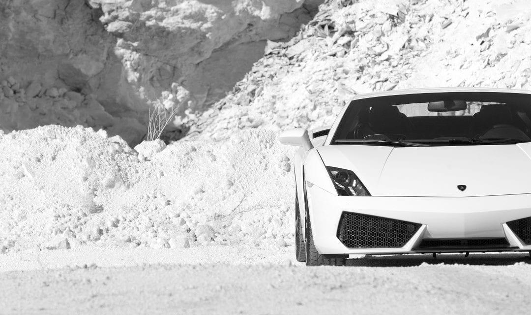 Steve Sutcliffe: Lamborghini Gallardo. When you switch off traction control