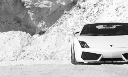 Steve Sutcliffe: Lamborghini Gallardo. When you switch off traction control