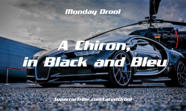 Monday Drool – A Chiron, in Black and Bleu