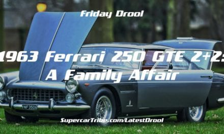 Friday Drool – 1963 Ferrari 250 GTE 2+2: A Family Affair