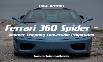 Ferrari 360 Spider – Another Tempting Convertible Proposition