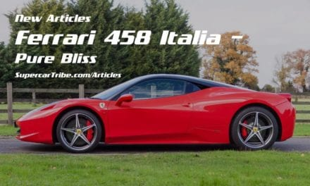 Ferrari 458 Italia – Pure Bliss