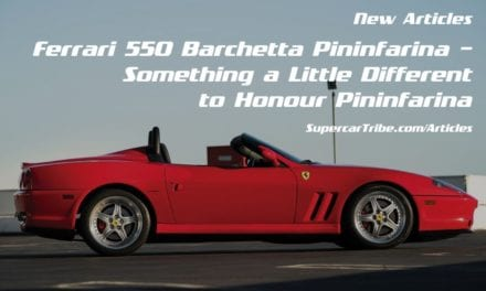 Ferrari 550 Barchetta Pininfarina – Something a Little Different to Honour Pininfarina