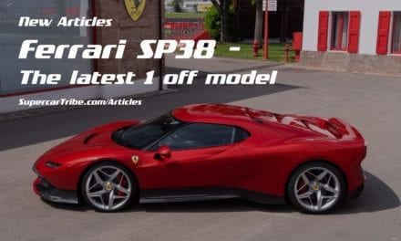Ferrari SP38 – The latest 1 off model