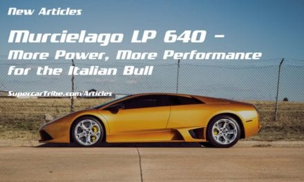 Murcielago LP 640 – More Power, More Performance for the Italian Bull
