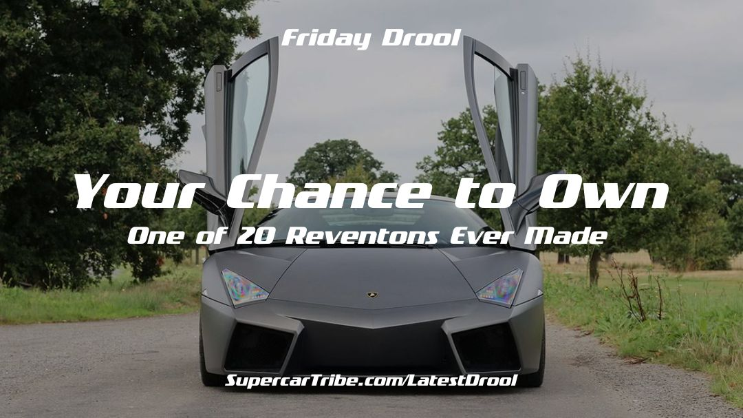 Friday Drool – Your Chance to Own One of 20 Reventons Ever Made