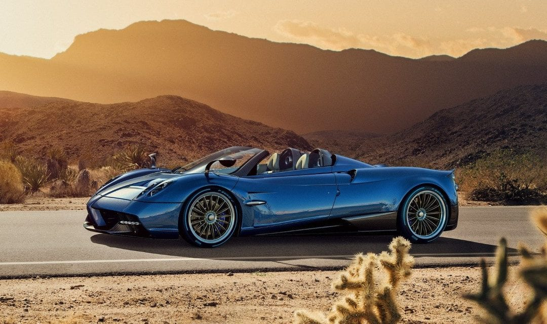 Pagani Huayra Roadster – The Open-Top Huayra That's Full of Surprises