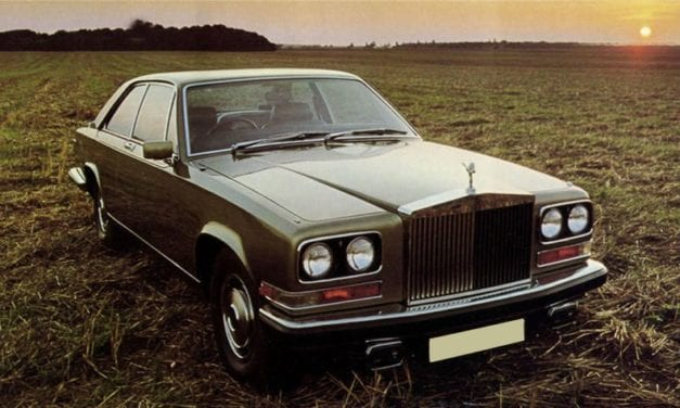 Rolls Royce Camargue – They Can't All Be Winners