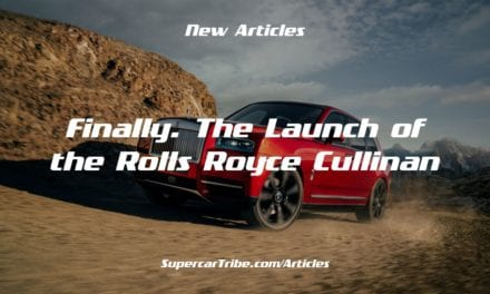 Finally. The Launch of the Rolls Royce Cullinan