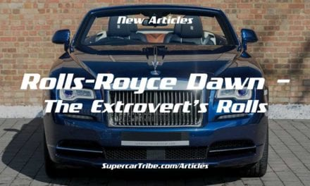 Rolls-Royce Dawn – The Extrovert's Rolls