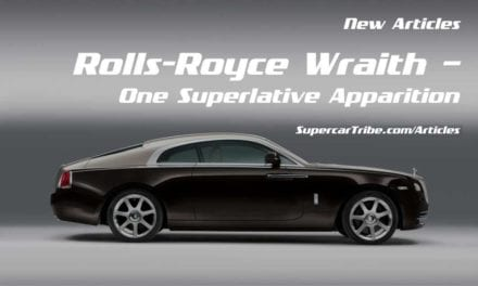 Rolls-Royce Wraith – One Superlative Apparition
