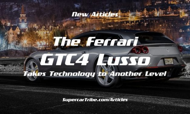 The Ferrari GTC4 Lusso Takes Technology to Another Level