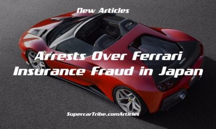 Arrests Over Ferrari Insurance Fraud in Japan