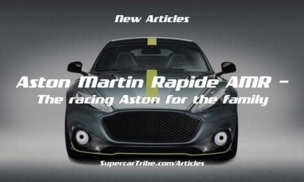 Aston Martin Rapide AMR – The racing Aston for the family