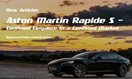 Aston Martin Rapide S – Confined Elegance in a Confined Market