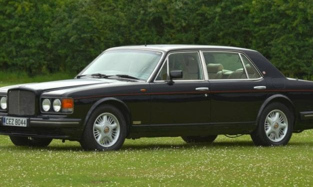 Bentley Turbo R – A Magnificently Sporty Bentley