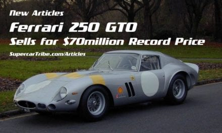 Ferrari 250 GTO Sells for $70million Record Price