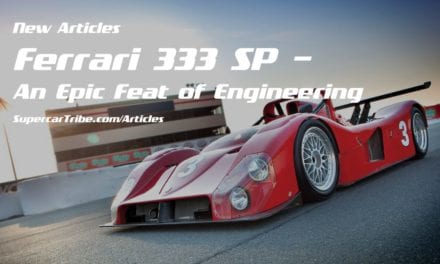 Ferrari 333 SP – An Epic Feat of Engineering