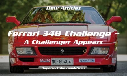 Ferrari 348 Challenge – A Challenger Appears