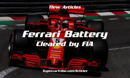 Ferrari Battery Cleared by FIA