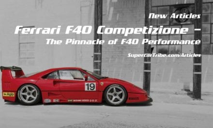 Ferrari F40 Competizione – The Pinnacle of F40 Performance
