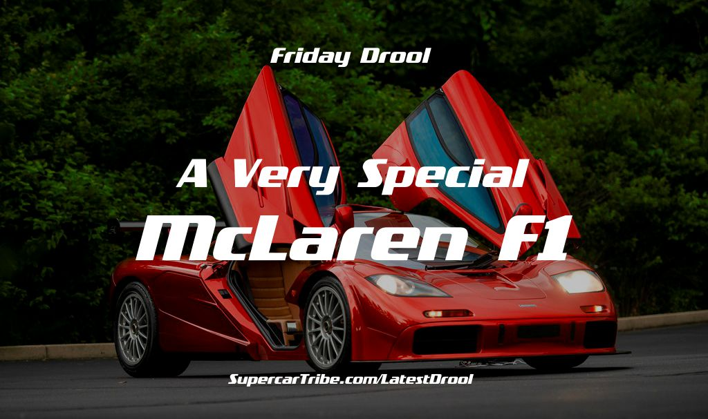 Friday Drool – A Very Special McLaren F1