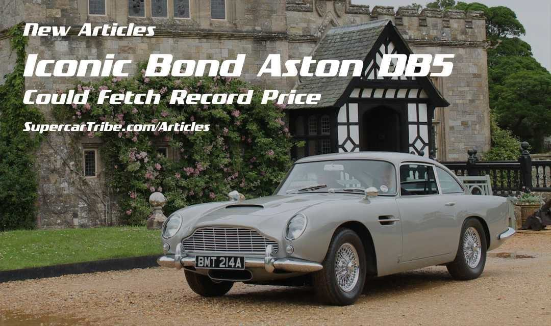 Iconic Bond Aston DB Could Fetch Record Price SupercarTribecom - Aston martin db5 price