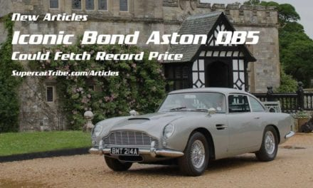 Iconic Bond Aston DB5 Could Fetch Record Price