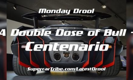 Monday Drool – A Double Dose of Bull – Centenario