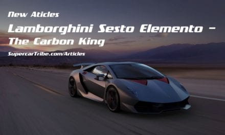 Lamborghini Sesto Elemento – The Carbon King
