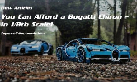 You Can Afford a Bugatti Chiron – in 1/8th Scale!