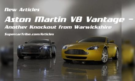 Aston Martin V8 Vantage – Another Knockout from Warwickshire
