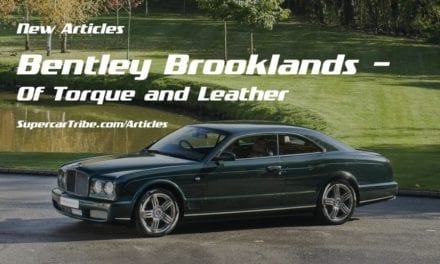 Bentley Brooklands – Of Torque and Leather