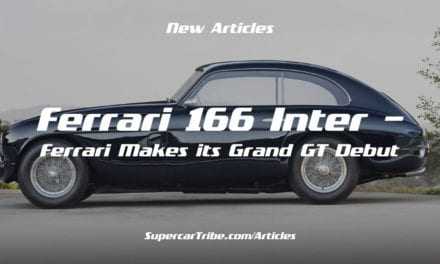 Ferrari 166 Inter – Ferrari Makes its Grand GT Debut